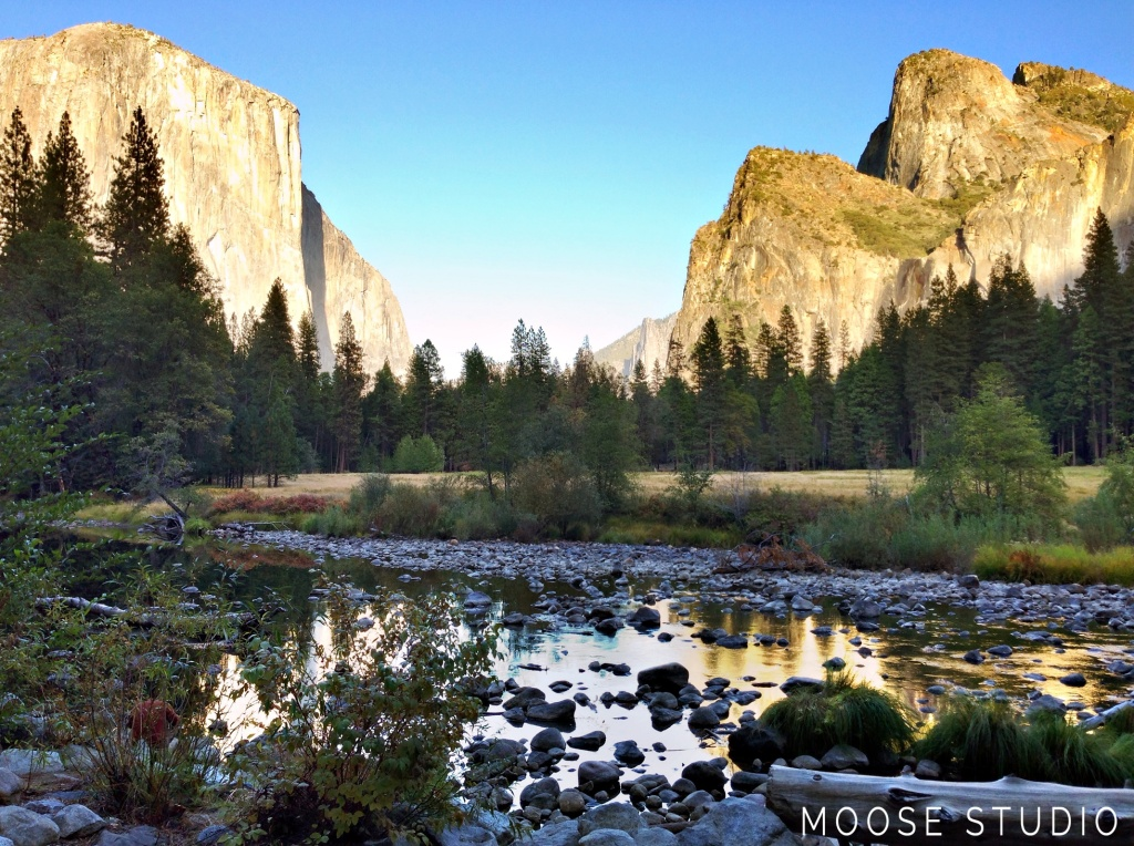 Yosemite National Park In California. Photography by Moose Studio.