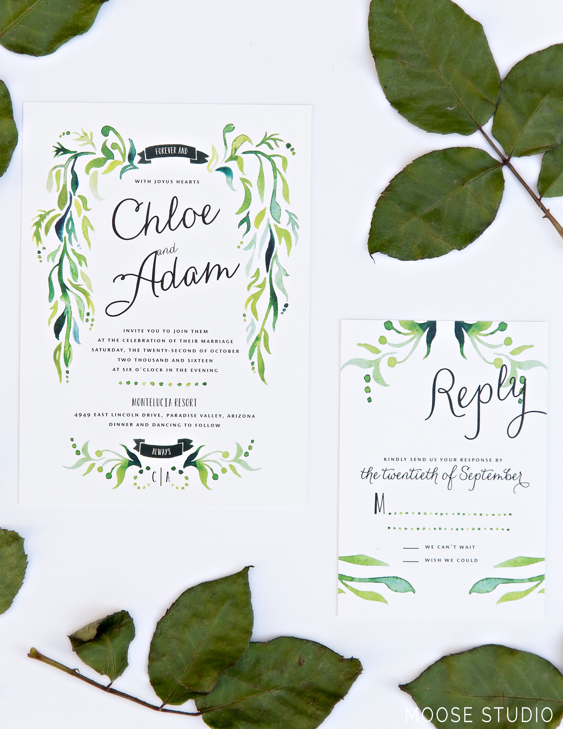 How To Properly Address Wedding Invitations | Moose Studio