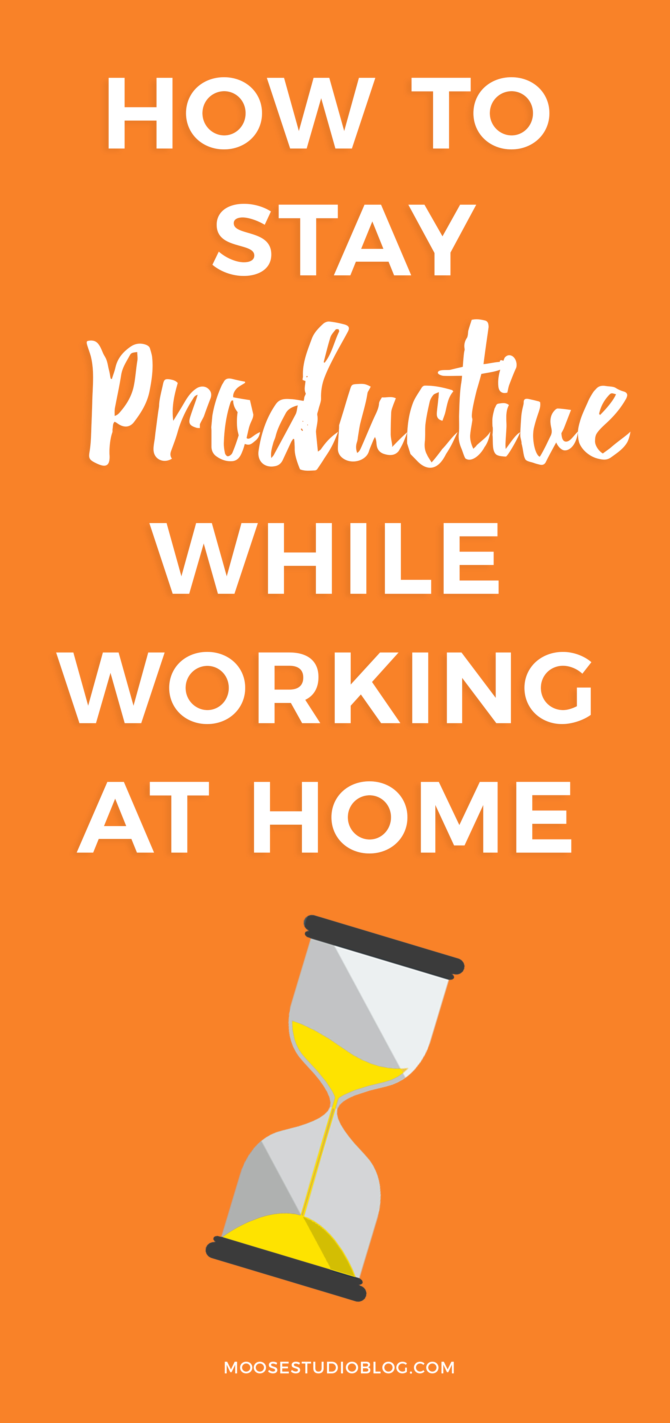 How To Stay Focused And Productive While Working At Home
