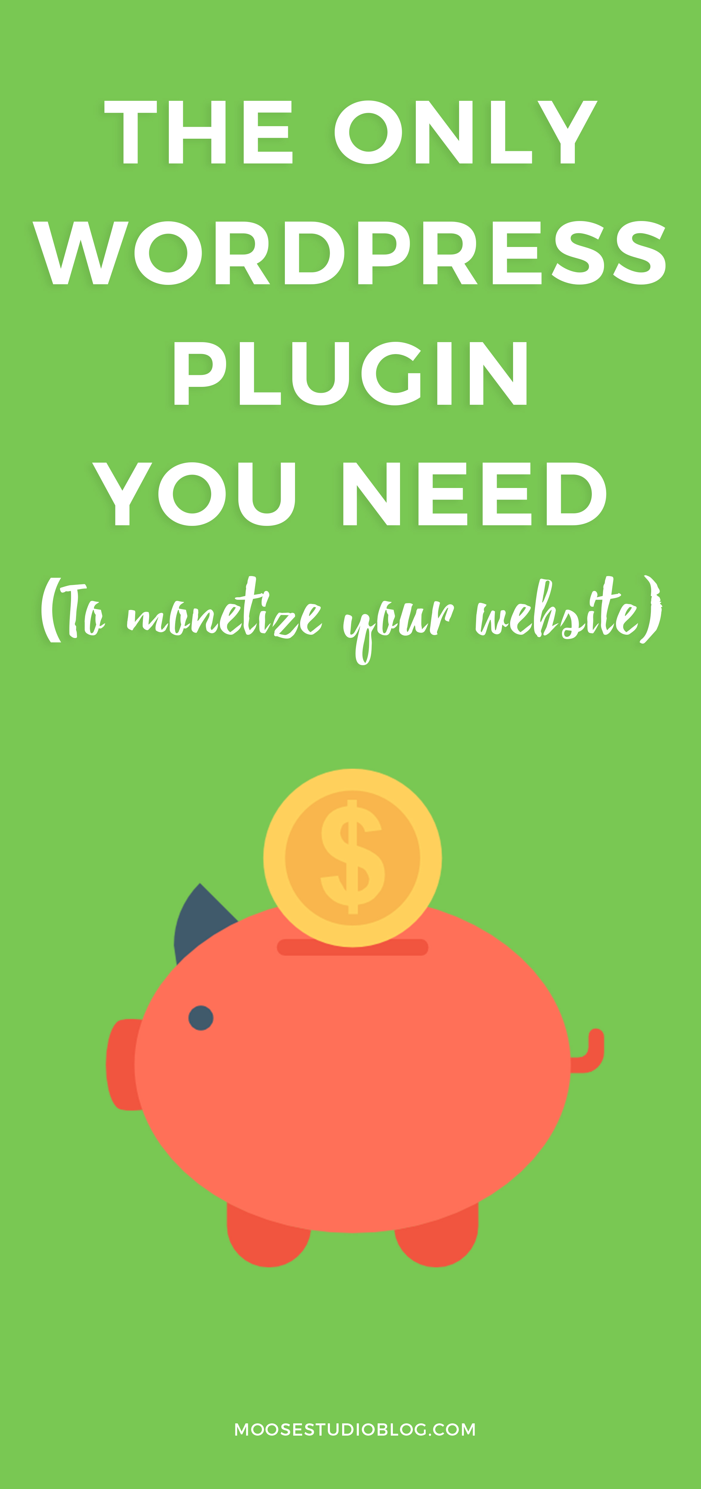 How To Easily Monetize Your Website With Only One WordPress Plugin