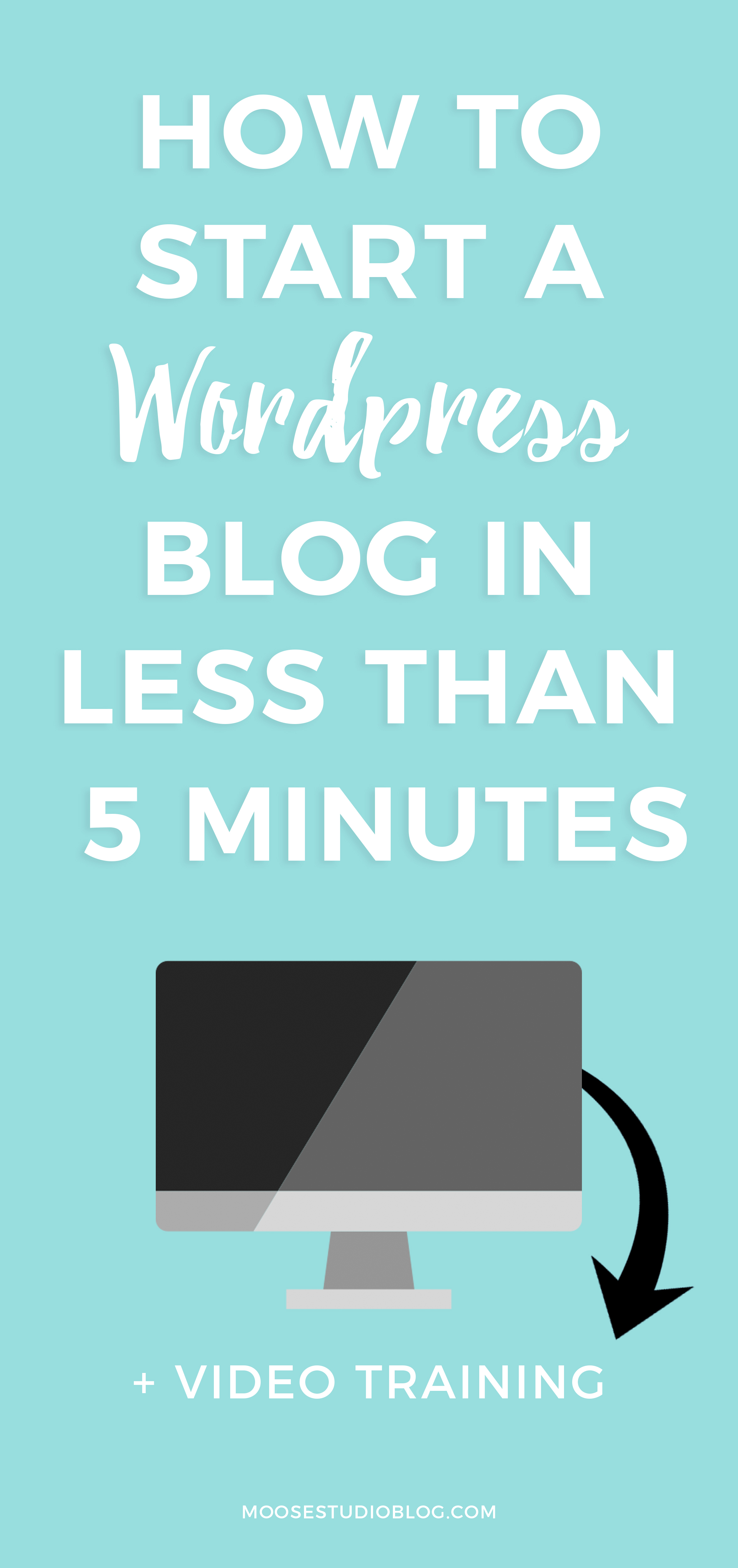 How To Start A WordPress Blog In Less Than 5 Minutes