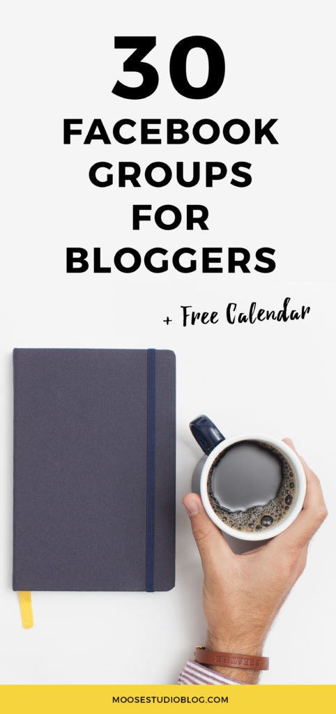 30 Facebook Groups For Bloggers And Creative Entrepreneurs