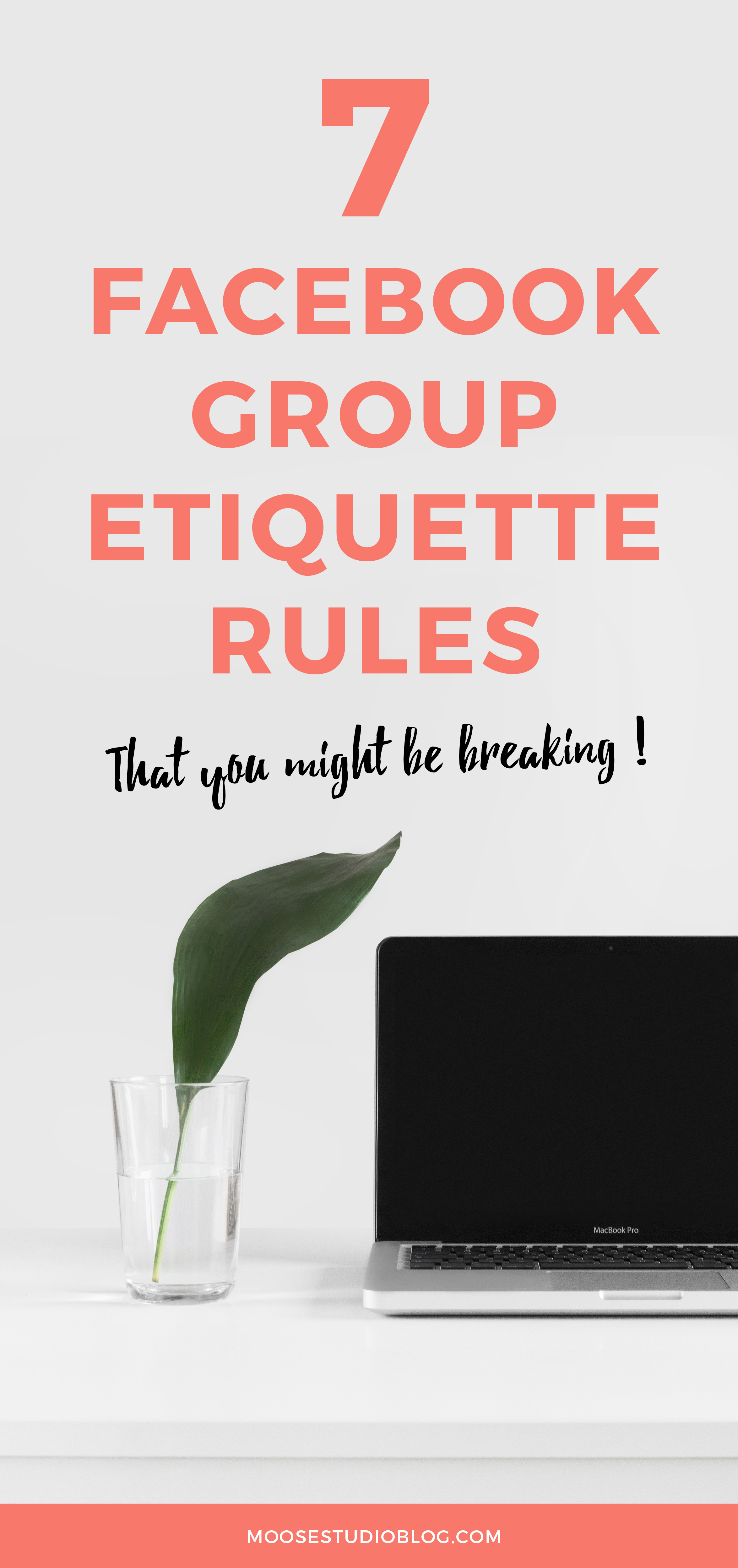 Facebook Group Etiquette