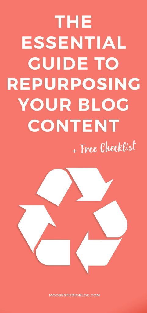 The Essential Guide To Repurposing Blog Post Content [Free Checklist]